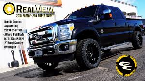 RealView - Leveled 2015 Ford F-250 W/ 22