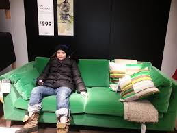Free Matilda In Her Minnesota Garb On A Velvet Sofa Which Adrian Hates With Stockholm Ikea