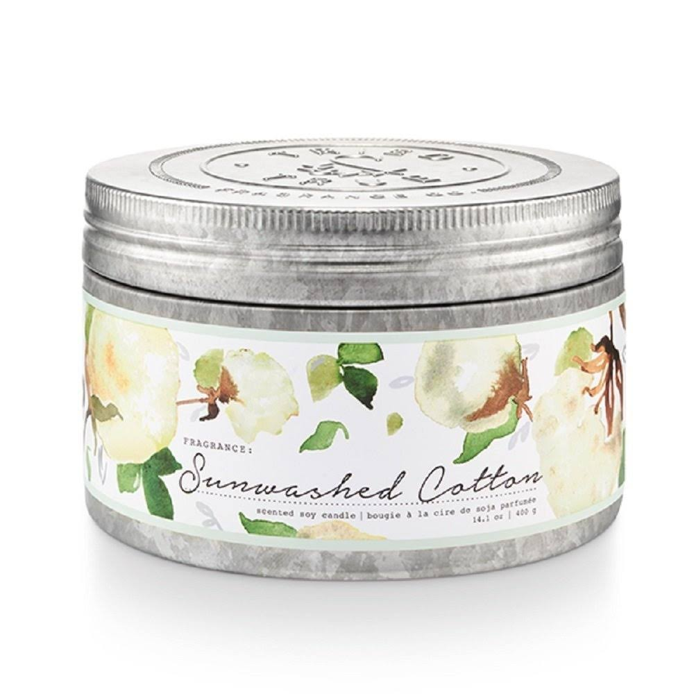 Tried & True Sunwashed Cotton Large Tin Candle, 14.1 oz.