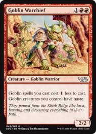 Goblin Charbelcher Vintage Deck by A Guide To Goblins Magic The Gathering
