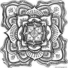 Halloween Adult Mandala Coloring Pages Print Download 394 Prints