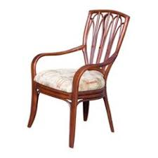 Cuba Dining Arm Chair In Sienna With Cabo Ginger