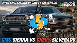 2019 GMC Sierra Vs Chevy Silverado - YouTube 2019 Chevy Silverado And 1500 27t Fourcylinder The New Small 2015 Chevrolet 2500hd Duramax Vortec Gas Vs 7 Differences Between The Gmc Sierra Pressroom United States 2014 V6 Delivers 24 Mpg Highway 2016 Equinox Terrain Mccluskey 2019gmcchevysilverado1500rearlights Fast Lane Truck Commercial Trucks For Sale Sedalia Mo Gm To Offer Clng Engine Option On Hd Trucks Vans Top Ways Its Different From Prices Elevation Introduces Midnight High Life Red Lifted Denali Car Pinterest