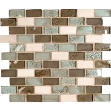Peel And Stick Glass Subway Tile Backsplash by Peel And Stick Glass Backsplash Tile Today Tests Temporary Tiles