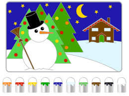 Coloring Pages Printable Awesome Picture Color Games For Toddlers Online Free Choose To The Snowman