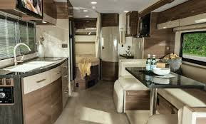 Interior Of A 2015 Winnebago Navion Class C Motorhome