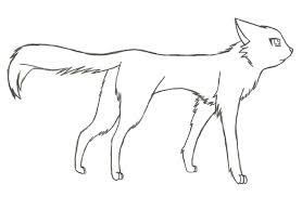 Warrior Cats Coloring Pages Cat On Pinterest