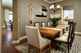 What To Put On Dining Room Table Stunning Awesome Solid Wood Thick Pads Chairs Above Floor Around Gray Painted Wall Decor That Have