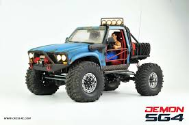 100 Rc Pickup Truck SG4B Demon 44 W Hard Body And Full Interior 110 Scale 4WD Scaler