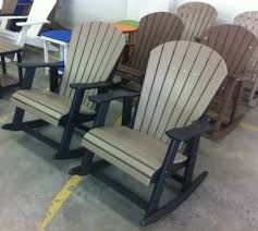 polywood rocking chairs polywood adirondack rockers