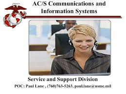 Nmci Help Desk Usmc by Communications Information Systems Cis Department Ppt Download