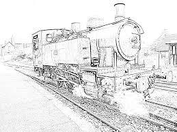 Coloriage A Imprimer Gratuit Train Thomas Coloriage Thomas Le