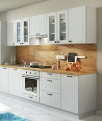 details zu neu küche schränke küchenzeilen lora weiss 260 cm mit arbeitsplatten 3 farben