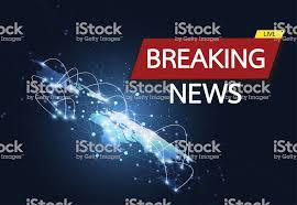 Breaking News Live On World Map Connection Background Business Technology Concept Vector Illustration Royalty