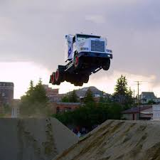 Semi-Truck Jumps 166 Feet Breaking World Record