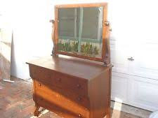 Tiger Oak Dresser With Swivel Mirror by Oak Antique Dressers U0026 Vanities 1800 1899 Ebay