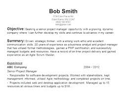 Create An Objective For A Resume Example Of Career Objectives In