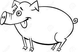 Nueva Tarjeta Feliz De 2019 Años Con El Cerdo Del Bebé De La