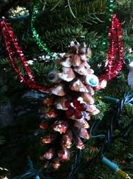 Pine Cone Christmas Tree Ornaments Crafts by Open Ended Christmas Ornament Crafts For Kids Pragmaticmom