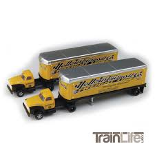 98 N Scale Trucks 1954 FordTractorTrailer Set TrainLifecom