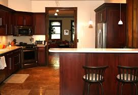 Dark Wood Cabinet Kitchens Colors Best Kitchen Paint Colors With Cherry Cabinets All About House