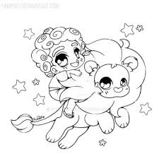 YamPuff 120 25 Steven And Lion Open Lineart By