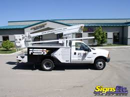 Full Spectrum Services Boom Truck Graphics