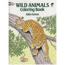 Animales Salvajes Para Colorear Libro