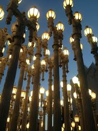 LACMA street lights by Stark Bar Picture of Ray s and Stark Bar