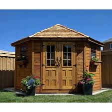 6x8 Wooden Storage Shed by Storage Sheds