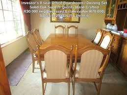Full Size Of Used Boardroom Table And Chairs For Sale Uk Setup Investment Furniture 8 Excellent