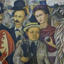 Diego Rivera Rockefeller Mural by Painting Box Mexico City Journal