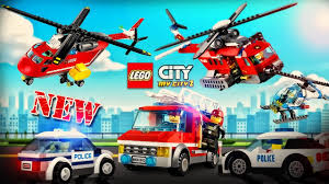 Cartoon About LEGO - NEW | Lego - CARS : Fire Truck, Police Car ...