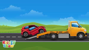 Big Trucks For Kids - Vehicles Compilation For Children - Kids TV ...