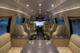 Interior Can Be Converted Into An RV Business Entertainment Center Or Transit Type Bus