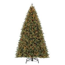 Black Pre Lit Pop Up Christmas Tree by Shop Artificial Christmas Trees At Lowes Com