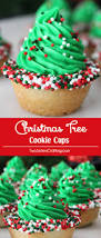 Rice Krispie Christmas Trees White Chocolate by Christmas Tree Cookie Cups Two Sisters Crafting