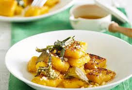 Pumpkin Gnocchi Recipe by Fast Ed U0027s Pumpkin Gnocchi With Herb Butter Recipe Foodiful
