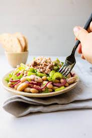 ruck zuck thunfisch bohnen salat