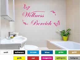 dekoration wandtattoo bad wc wellness wellnessoase möbel