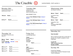 The Crucible Week 2 | CrossFit Whiteriver Sfr Coupon Code Quantative Research Deals With Numbers Spothero Reviews And Pricing 2019 Go North East Promo Lifeproof Case Doordash Reddit Chicago Spothero Promo Code For Existing Users New Directions 6 Slice Toasters Blue Man Group Boston Discount Ga Firing Line November Referral Program Park N Go Charlotte Light Bulbs Home Depot Coupons Tk Tripps Monthly Parking Dcoration De Maison Ides Mgm Hotel Uber Canada Edmton