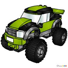 100 Lego Monster Truck Games How To Draw City