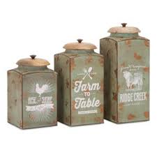 Savannah Turquoise Kitchen Canister Set by Kitchen Canisters On Hayneedle Kitchen Jars