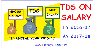 Cal Grant Income Ceiling 2017 18 by Tds On Salaries For Fy 2016 17 Ay 17 18 U S 192 Income Tax Act