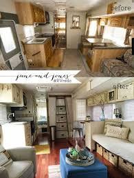 70 Fantastic Before And After RV Camper Interior Remodel Decomg