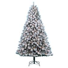Flocking Machine For Christmas Trees by Donner U0026 Blitzen Incorporated 7 5 U0027 Pre Lit Snow Country Flocked
