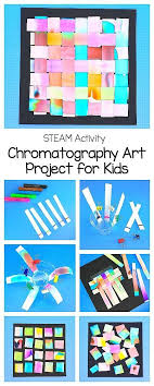 STEAM STEM Activity For Kids Art Project Using Chromatography Explore The Science