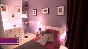 chambre couleur prune et gris peinture bordeaux chambre