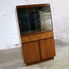 Architectural Modern China Cabinet By Morris Of California Mid Century