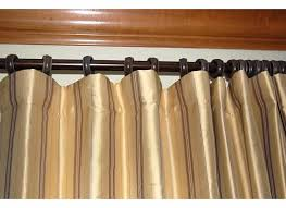 another drapery question traverse rods and non pleated panels
